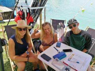 Mit Sarah und Leo von SUP2Gether